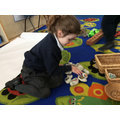 Creating an imaginative story using the story stones