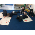counting in 5s using numicon