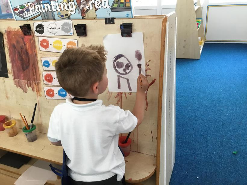 Painting and mark-making