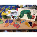 Bringing our learning of The Very Hungry Caterpillar alive
