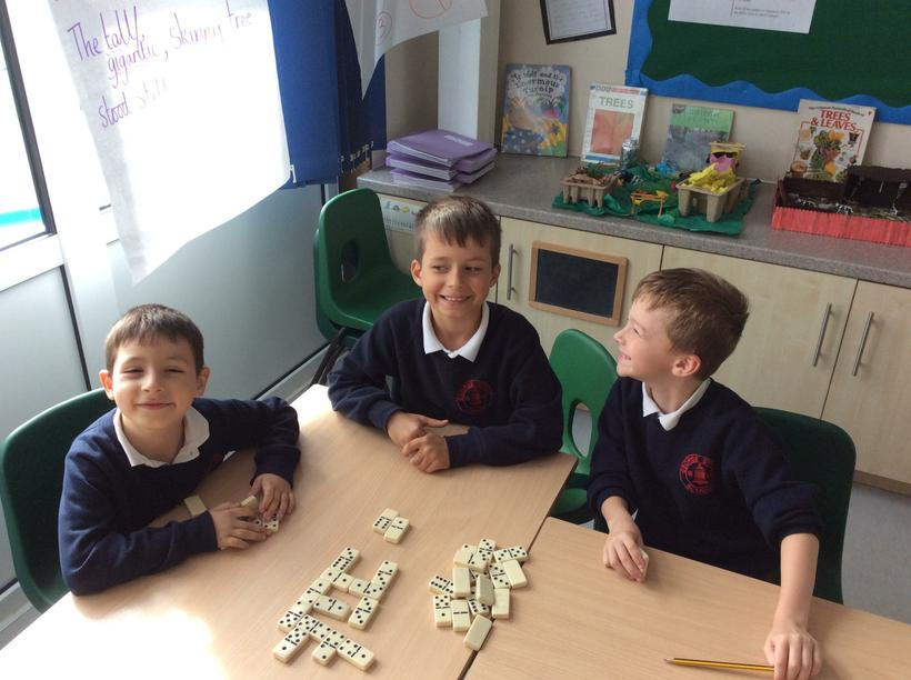 Dominoes in Golden Learning