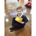 Alfie gets a Gold award
