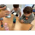 making sensory bottles