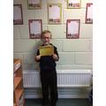 Gold Award for Alfie