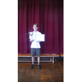 Tyler won the 'Male Sportsperson' Award