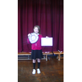 Ellie-Louise won the 'Performing Arts' Award