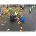 Maths Week - maths trails - ordering by size.