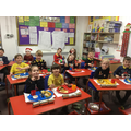 Christmas jumper day and dinner.