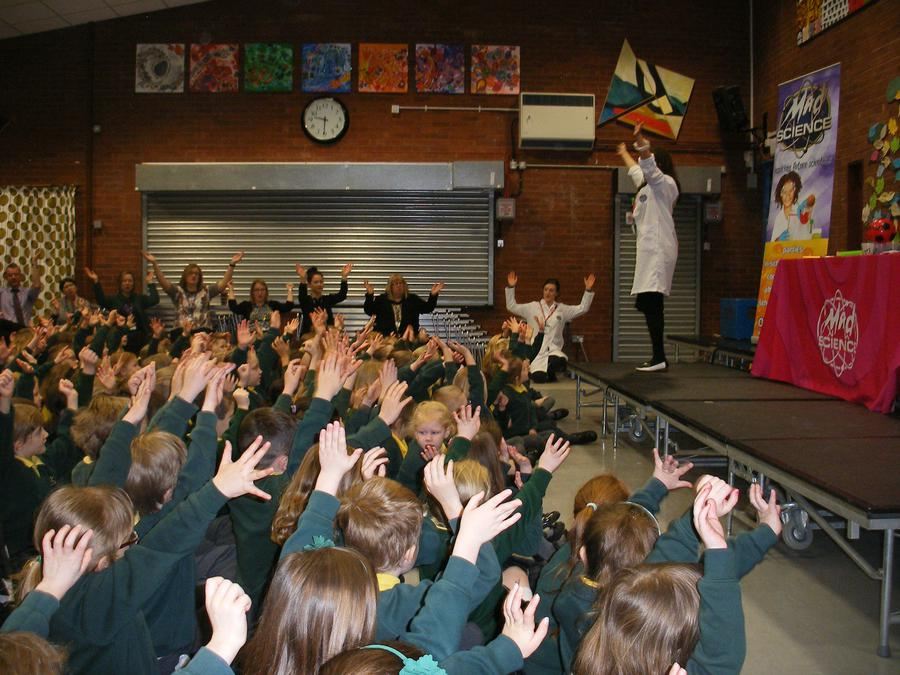 Hands up who had a great science week!