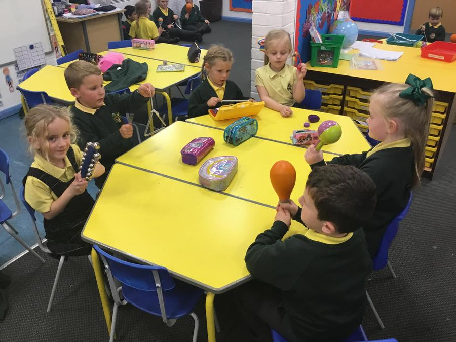 Y1 - Finding the beat and composing.