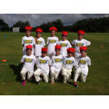 With their Lancashire Thunder hats
