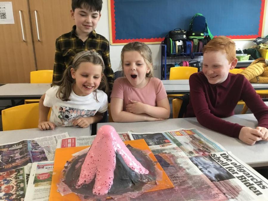 Y3 - Erupting volcanoes