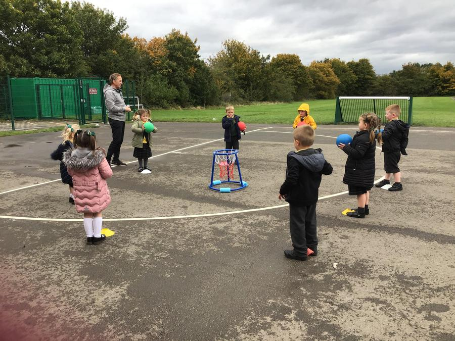Reception - ball skills