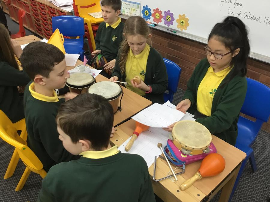 Y6 - Composing, recording notation and performing.