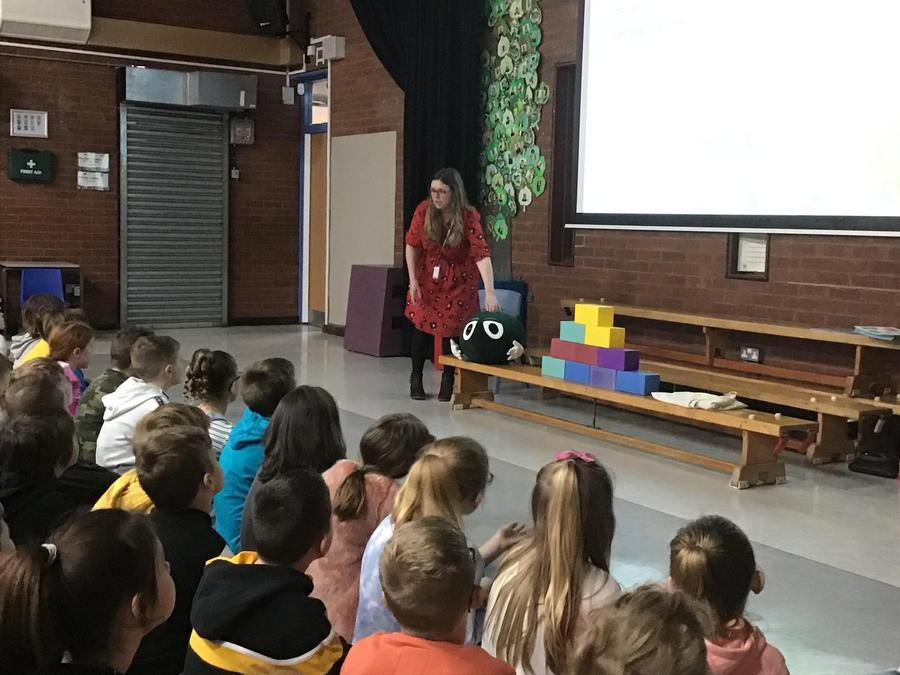 NSPCC visited us to talk about worries and how to deal with them