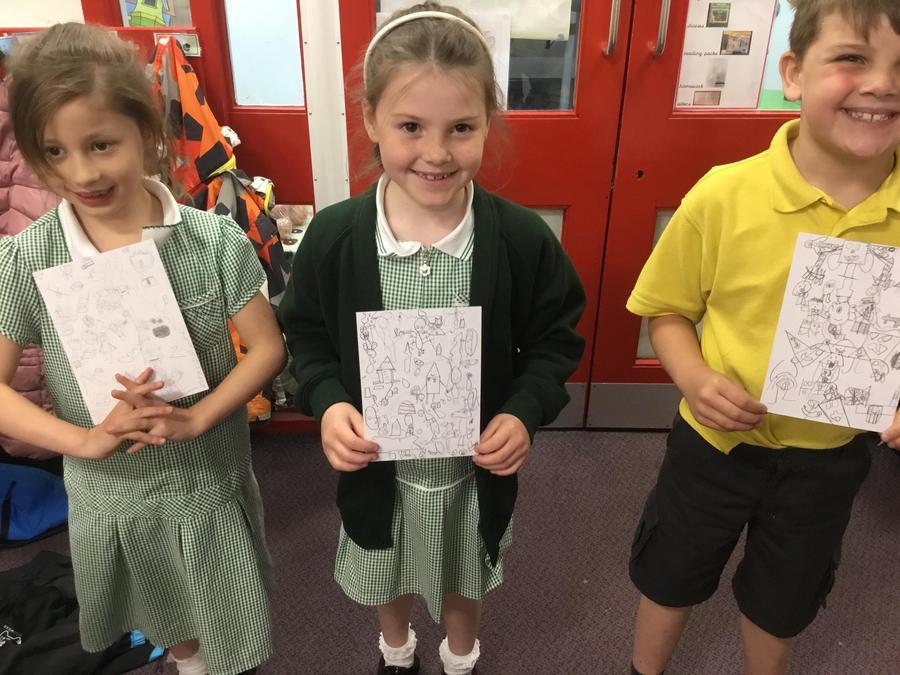 Arts Week - Mr Doodle art