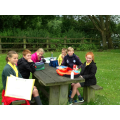 Y6's picnic lunch