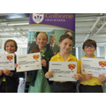 Certificates for our superstars!