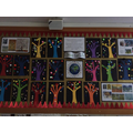 Y2 Puffins Collage Trees