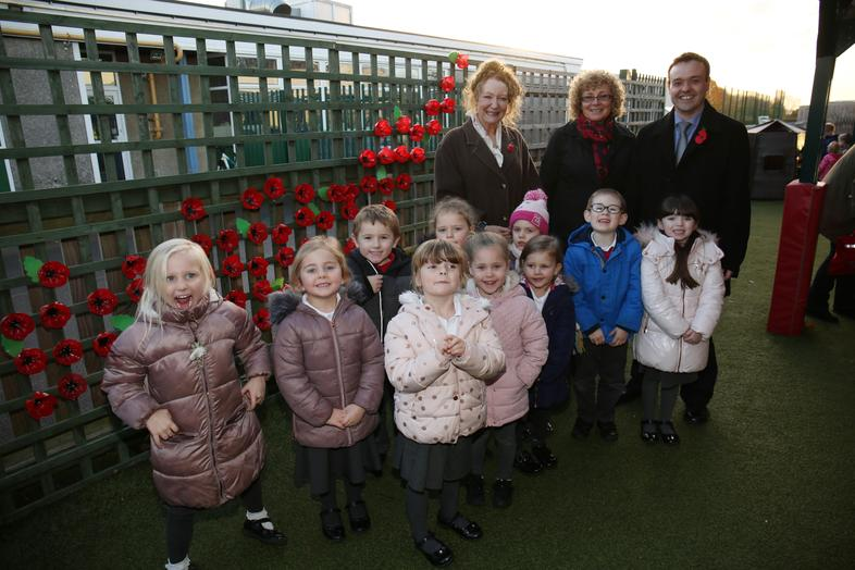 Stephen McPartland MP attended the unveiling