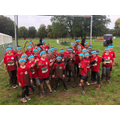 Brave Gilmour children at the Tough Mudder event
