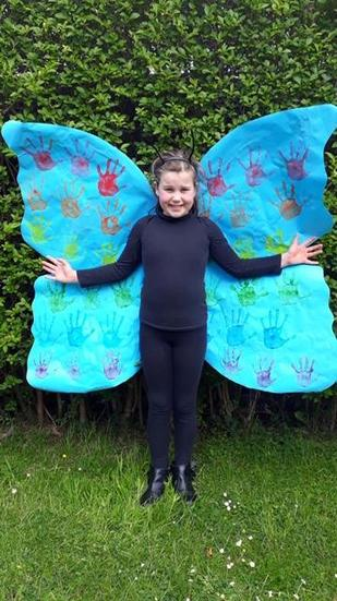 Eva the butterfly.