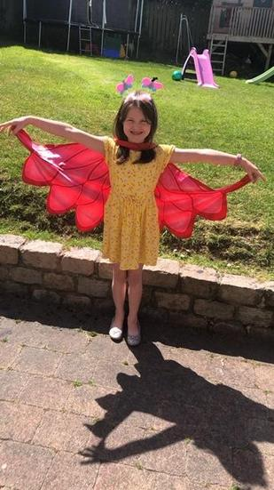 Holly the butterfly.