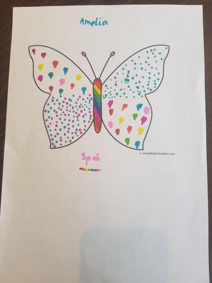 Amelia's butterfly.