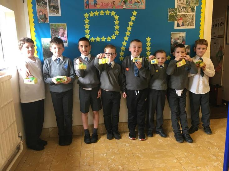 P4S made buns for their Easter baskets.