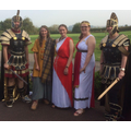 Our 3/4 staff team ready for their Roman adventure