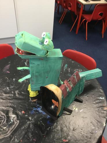 Box model dinosaur ideas