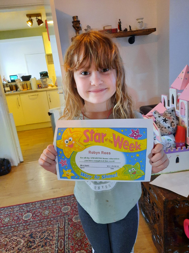 Home Education Star of the Week - Robyn!