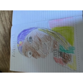Lovely portrait of our artist Faith Ringgold.