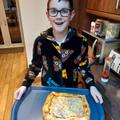 Pizza making looks yummy!