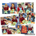 Today, we baked Russian cookies inspired by our class novel.