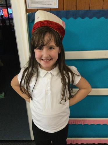 Lauren's Express Yourself Hat!
