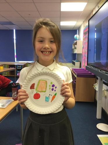 Isla-Bell's Healthy Eating Plate