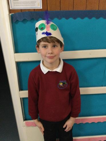Hayden's Express Yourself Hat!