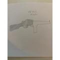Gun sketch by Kade