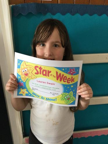 HomeEducation Star of the Week - Lauren!