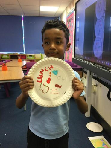 Atwain's Healthy Eating Plate