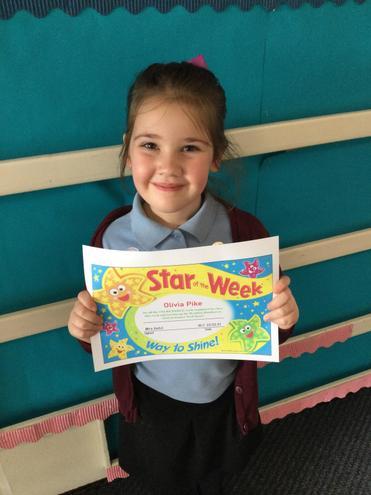 Y2 in School Star of the Week - Olivia!