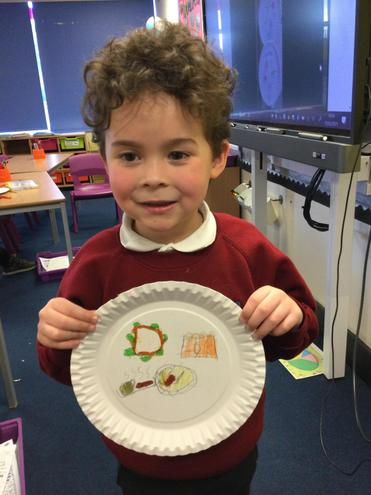 Jay's Healthy Eating Plate