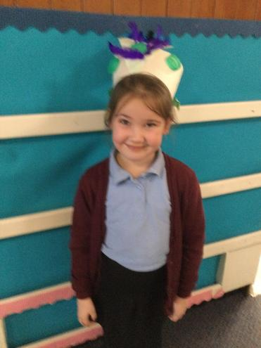 Olivias's Express Yourself Hat!