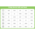 Phase 4 tricky words