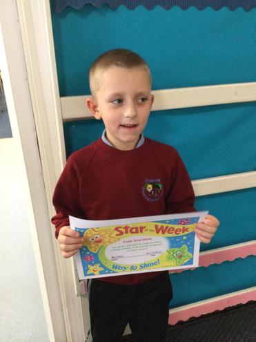 Y2 School Star of the Week - Cade!