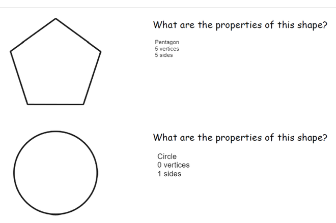 Daisy - Properties of 2D Shapes