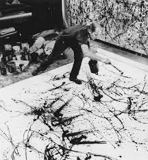Most of his painting style was 'splatter painting'
