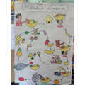 Our story map of Handa's Surprise