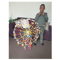 Cayden's K'nex Ferris Wheel  with a motor!
